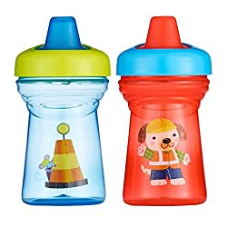 The First Years Soft Spout Sippy Cup 9oz, 2 Pack Mouse And Dog By The First Years