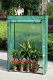 Outdoor Garden Growbag Growhouse Greenhouse Frame & Reinforced Cover Green House