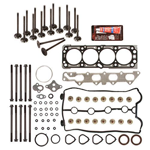 Evergreen HSHBIEV8-10416E Head Gasket Set Head Bolts Intake Exhaust Valves Fit 04-05 Chevrolet Aveo 1.6L 98CID DOHC 16V VIN 6 (Intake Chevrolet Aveo compare prices)