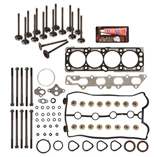 Evergreen HSHBIEV8-10416E Head Gasket Set Head Bolts Intake Exhaust Valves Fit 04-05 Chevrolet Aveo 1.6L 98CID DOHC 16V VIN 6 (Intake Chevrolet Aveo compare prices)
