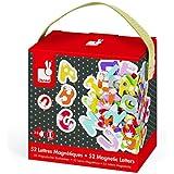 Janod - 4509612 - Coffret magnétiques  - Splash - 52 lettres - Multicolore