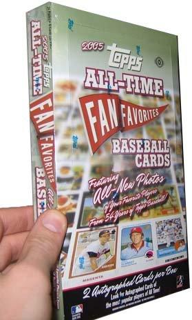 2005 Topps All Time Fan Favorites Baseball HOBBY Box – 24P6C