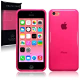 New Apple iPhone 5C 8gb (2014) TPU Gel Skin Case / Cover - Hot Pink