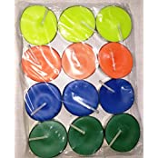 Galaxy Candles Tea Light Candles Set Of 12 Pieces