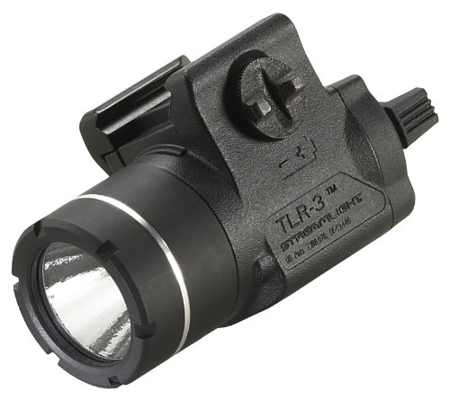 Streamlight 69220 Tlr-3 Weapon Mounted Tactical Light With Rail Locating Keys front-55920
