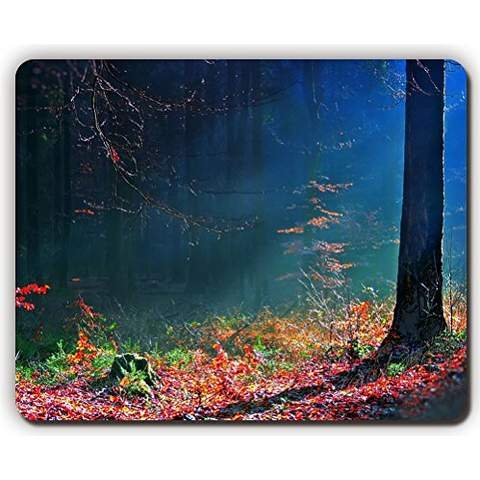 high-quality-mouse-padleaves-autumn-brightly-wood-trees-earth-beamsgame-office-mousepad-size260x210x