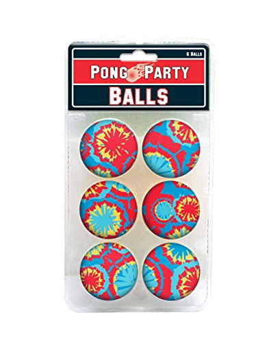 Tie Dye Pong Balls