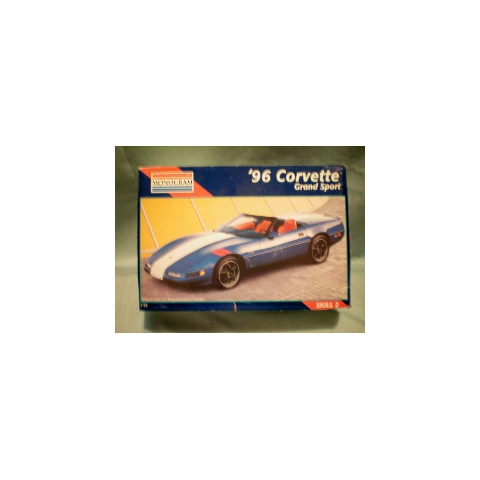 Monogram 1996 Corvette Grand Sport Model Car Kit    1:24    NIB    as
