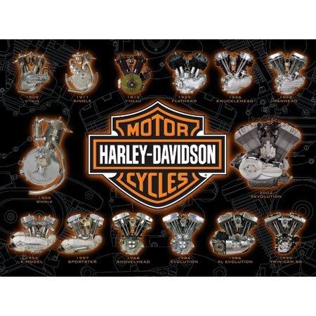 Harley Davidson Engine Power Jigsaw Puzzle 1000pc