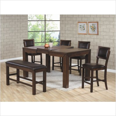 counter height rectangular dining table in coffee dining table for 8