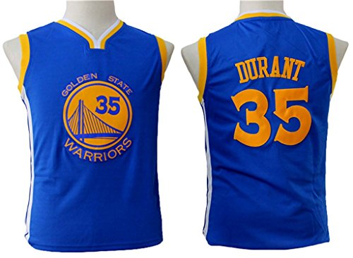 Youth Kevin Durant Blue Basketball Jersey M