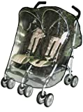 Sasha Kiddie Chicco 3R Chicco Ct0.5, Citta Twin Stroller Rain and Wind Cover - Stroller Not Included
