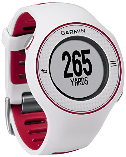 Garmin Approach S3 - Reloj con GPS para golf, color rojo / blanco