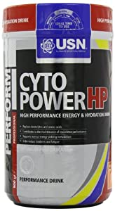 USN Cyto Power HP Energy and Stamina Drink Powder, Orange - 900 g