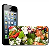 Greek Feta Cheese Salad Tomato Cucumber Hard Case Clip On Back Cover For Apple iPhone 5