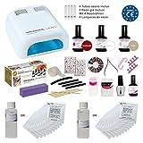 Kit Meanail NAIL ART professionale ULTRA COMPLETO!! Fornetto + 28 accessori professionali per realizzare la vostra manicure con risultati professionali! Marchio CE