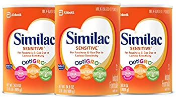 3-Pack Similac Sensitive Infant Formula Powder