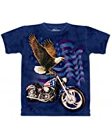 T-Shirt Adulte The Mountain Moto Né pour Conduire
