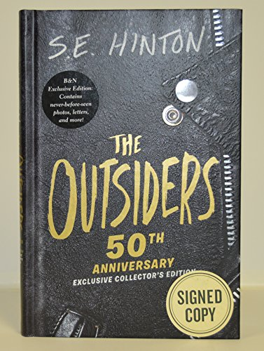 se-hinton-signed-the-outsiders-hardcover-book-50th-anniversary-exclusive-collectors-edition