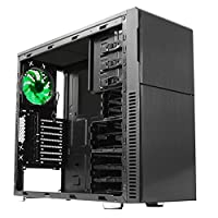 NANOXIA Deep Silence 3 Mid Tower Case Fits ATX Motherboard NXDS3B Black from NANOXIA