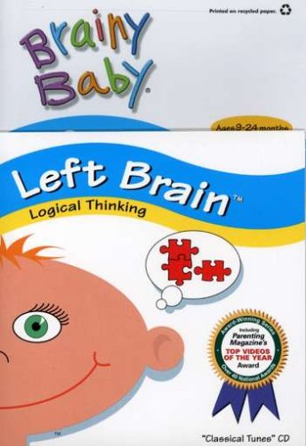 Brainy Baby: Left Brain - Inspires Logical Thinking