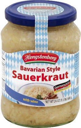 Bavarian Style Sauerkraut From Germany, 24 Ounce Jar (Kielbasa And Sauerkraut compare prices)