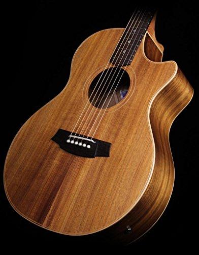 Cole Clark Angel 2 2Ec-Blbl-F Grand Auditorium Acoustic/Electric Guitar Natural