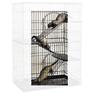 ProSelect Steel Cat Cage Ramp Conversion Kit, 3-Pack