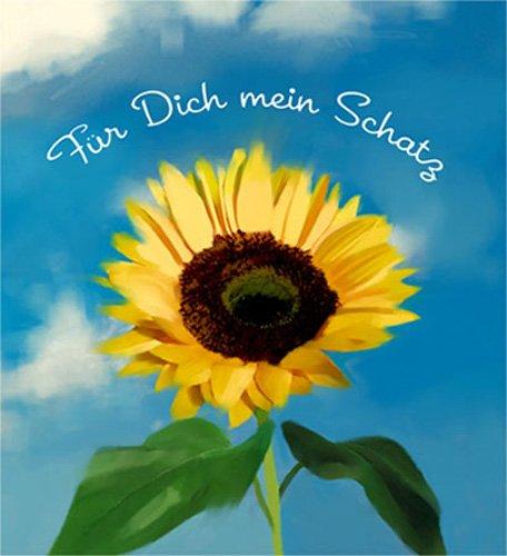 Sonnenblume - DVD Geschenkhülle - Blu-ray DVD-Verpackung Pappschachtel