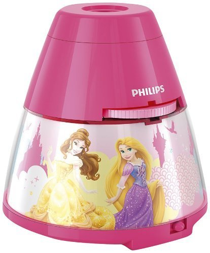 Philips Disney Princess Children'S Night Light And Projector - 1 X 0.1 W Integrated Led By Philips