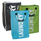 Single Size Polyester Spacious Laundry Bag Hold Up 44 Litres Available in Fun Striking Designs