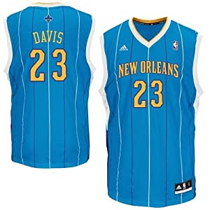 NBA Adidas New Orleans Hornets Anthony Davis Revolution 30 Youth Medium Road Jersey... by adidas
