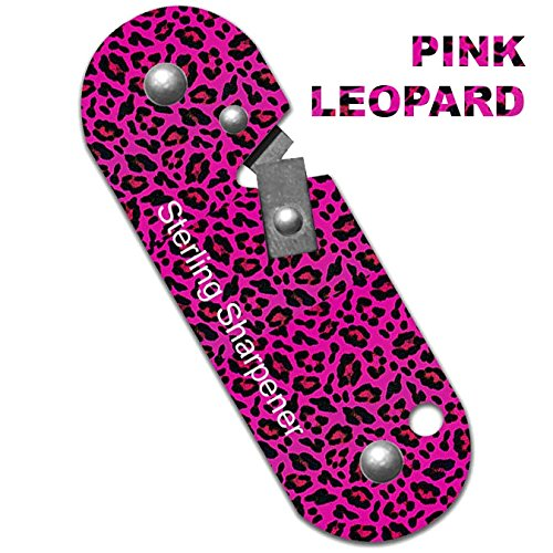 Sterling Sharpener -- Pink Leopard