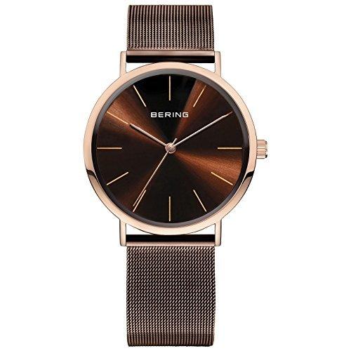 BERING Vintage Slim Men's Watch brown/rose gold 13436-265