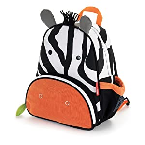 Skip Hop Zoo Pack Little Kid Backpack, Zebra