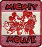 Mickey Minnie Mouse Disney Iron On Embroidered Applique Patch
