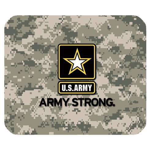 US Army Military Army Strong Personalized Rectangle Mouse Pad (Army Mouse Pad compare prices)
