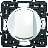 Legrand Celiane LEG99720 Interrupteur simple ou va et vient 10 ampères Blanc à composer