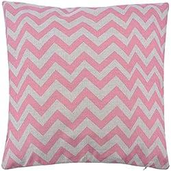 Tinksky Kissenbezug Welle gedruckt Kissen groß-hübsch Cushion Cover dekorative Kissenbezug Square 40x40 cm