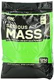 Optimum Nutrition Serious Mass, Chocolate, 12 Pound Reviews