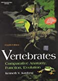 This one-semester text is designed for an upper-level majors course. Vertebrates features a unique emphasis on function and evolution of vertebrates, complete anatomical detail, and excellent pedagogy. Vertebrate groups are organized phylogenetically...