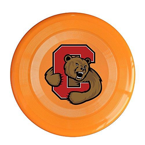 XJBD Unisex Cornell Big Red Bear University Outdoor Game, Sport, Flying Discs,Game Room, Light Up Flying, Sport Disc ,Flyer Frisbee,Ultra Star Orange One Size