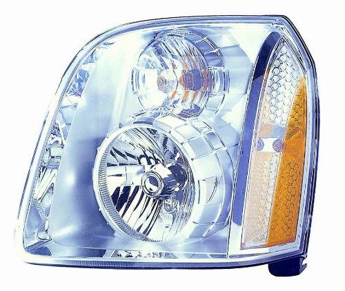 Depo 335-1143L-AS GMC Yukon Denali Driver Side Replacement Headlight Assembly (Headlights For Cars Assembly compare prices)