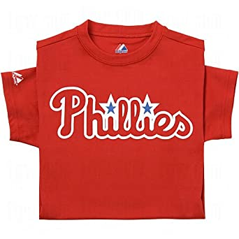 Majestic Youth Mlb Replica Cool Base Jerseys Philadelphia Phillies by Majestic Athletic