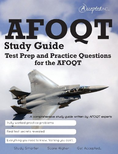 AFOQT Study Guide: Test Prep and Practice Test Questions for