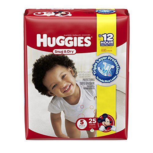 Huggies Snug and Dry Diapers - Size 5 - 25 ct - 1