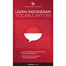 Learn Indonesian - Word Power 1001 Audiobook by  Innovative Language Learning Narrated by  Innovative Language Learning