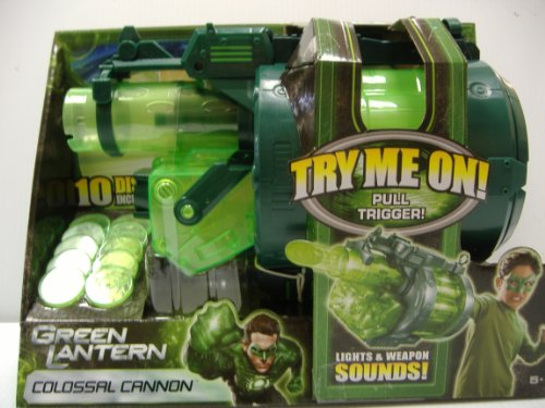 Green Lantern Colossal Cannon Accessory