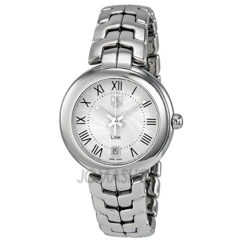 Tag Heuer Link Silver Guilloche Dial Stainless