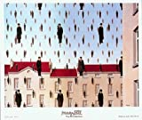 Golconde by Rene Magritte. Size 44.25 X 39.38 Art Poster Print